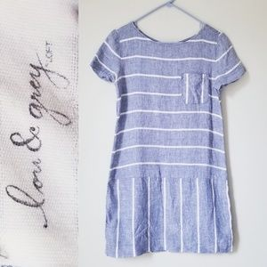 Lou & Grey Linen Dress NWOT!